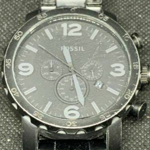 Fossil Men's Stainless Steel Gray Dial Watch B318